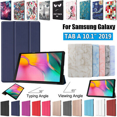 """UK Leather Tablet Case Cover Stand For Samsung Galaxy Tab A 10.1"""" 2019 T510 T515"""