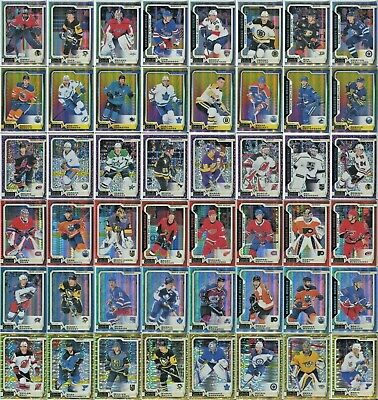 2018-19 OPC Platinum Hockey - Base/Rookie Parallels - 121-160 - Pick From List