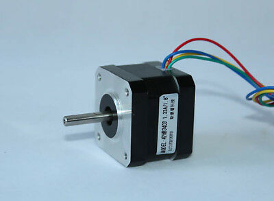 42 Stepper Motor 42HB3403 1.8° 1.33A 120g.cm 0.22N.M Two-phase four-wire DC 24V