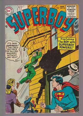 Superboy # 39  The Boy with Superboy Powers !  grade 4.5 scarce book !