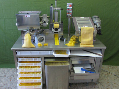 PamaRoma Pastastation-Professional fresh pasta machine (kneading/extrusion)
