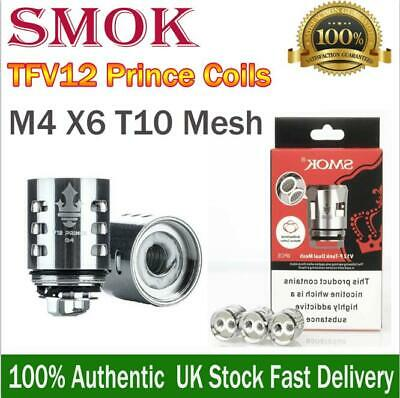 SMOK TFV12 PRINCE Replacement Coils Atomizers Q4 | M4 | X6 | T10 | STRIP | MESH