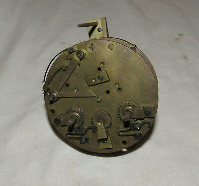 Antique clock movement to restore antique clock