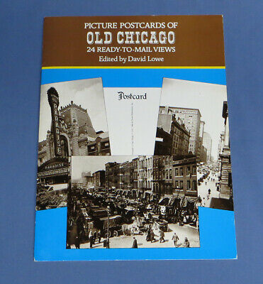 Folder of Picture Postcards of Old Chicago, 24 Ready-to-Mail Views