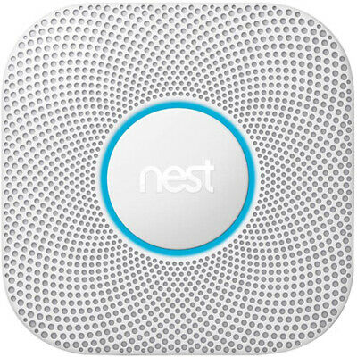 Google Nest Protect Wired Smoke and Carbon Monoxide Alarm (White, 2nd Generation