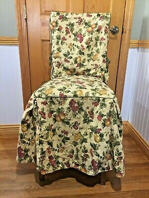 Tremendous 3 Waverly Garden Room French Country Toile Dining Chair Slip Alphanode Cool Chair Designs And Ideas Alphanodeonline