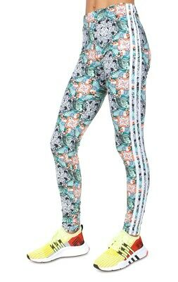 nwt~Adidas Originals JRS ZOO LEGGINGS Tight Yoga gym Running Pants~JUNIORS sz XL