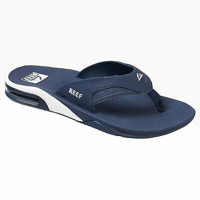 Reef Fanning Mens Footwear Sandals - Navy White All Sizes