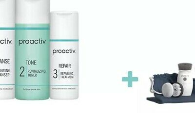 Proactiv Solution 3-Step Systemwith  Deluxe Brush Kit30 Day Supply