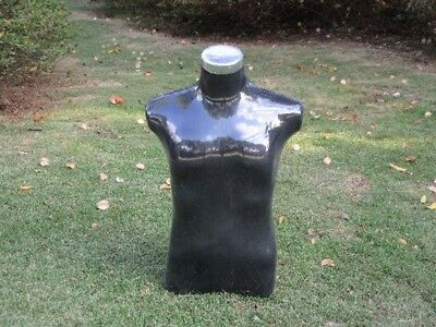 1X New Black Male Wear Mannequin Torso Without Hat Stand
