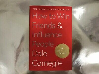HOW TO WIN FRIENDS AND INFLUENCE PEOPLE by Dale Carnegie (HardCover)
