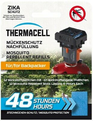 Thermacell Backpacker Paquete de Recambio 48H Repelente Mosquitos Insecto