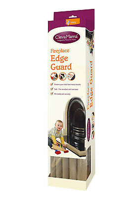 ClevaMama Fireplace Edge Guard Non Toxic Baby Toddler Protector NEW