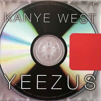 Kanye West - Yeezus -  Lp - Limited Matte Cover Edition- Red Colored Vinyl