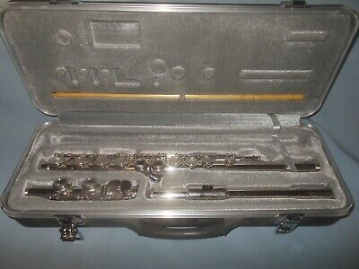 Simba Instruments Hard Case Flute with Cleaning Rod