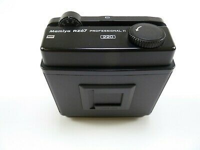 Mamiya RZ67 Pro II 220 Film Magazine for all models of the RZ67 Cameras in E+C