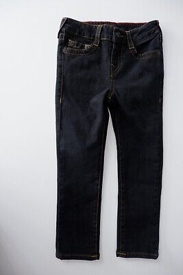 True Religion Rocco Boys Jeans, Size Age 4, Dark Blue, Vgc