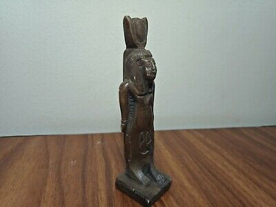 Rare Stone Egyptian Isis Statue Goddess Figurine Ancient Sculpture Egypt antique