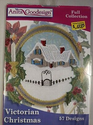 Victorian Christmas Machine Embroidery Anitagoodesigns