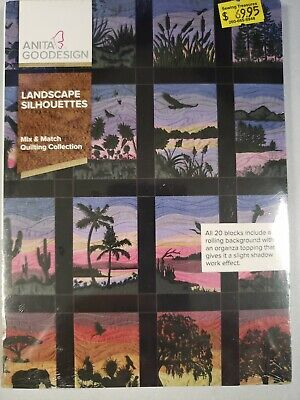 Landscape Silhouettes Machine Embroidery Anitagoodesigns