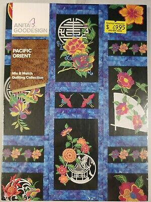 Pacific Orient Machine Embroidery Anitagoodesigns