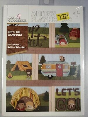 Let's Go Camping Machine Embroidery Anitagoodesigns Anita's Playhouse