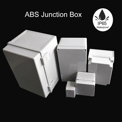 IP65 Waterproof Weatherproof Junction Box Plastic Electric Enclosure Case AU
