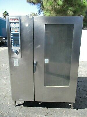 Rational Model Cpc 202G 20-Pan Full Size Roll-In Gas Combi Oven