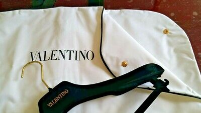 Valentino White Suit Bag With Hanger