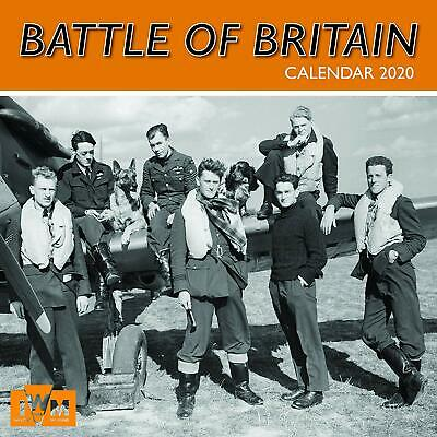 *NEW* Battle of Britain 2020 - 16 Month Square Wall Calendar (Gifted Stationery)