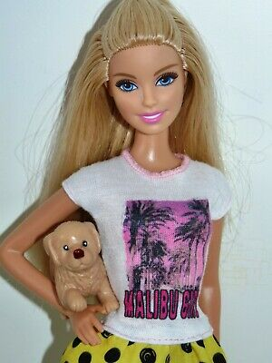 Barbie Sisters Great Puppy Chase Malibu Girl Barbie Doll