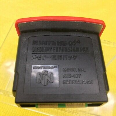 Nintendo 64 n64 expansion memory pack pak  official original NUS-007 tested