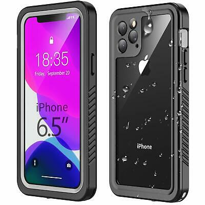 Waterproof iPhone 11 Pro Max Case,Clear Sound Quality Built in Screen Protector