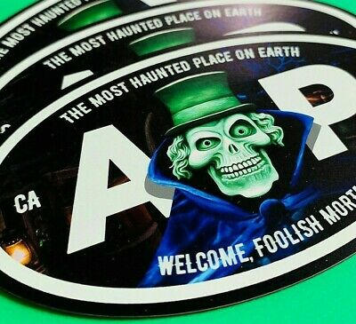 """Disney Annual Passholder Haunted Mansion Hat Box Ghost Oval 5 x 3"""""""