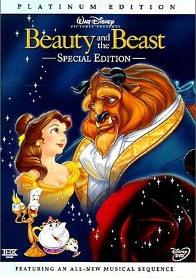Beauty and the Beast OOP 2-Disc Platinum Edition DVD
