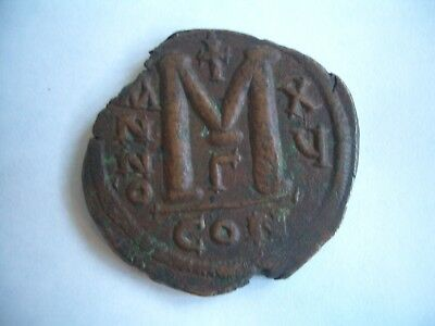 BYZANTINE ANCIENT COIN : Justinian I - AD 527-565