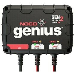 8A 2-Bank Onboard Battery Charger NOCO GENM2
