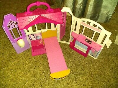 2014 Mattel Barbie Glam Getaway Fold N' Go House  no accessories