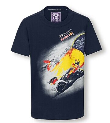 T-SHIRT Tee Infiniti Red Bull Racing Team Formula One 1 F1 Graphic NEW!