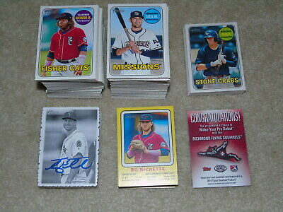 2018 Topps Heritage Minor League Complete Master Set 270 Cards Sps + Inserts