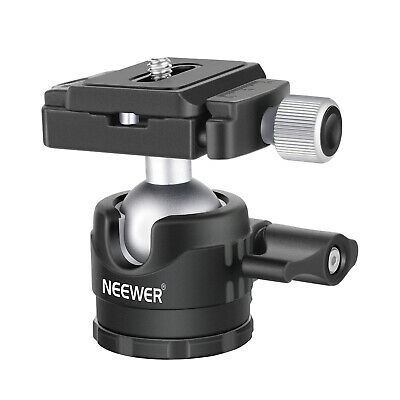 Neewer Low-Profile Ball Head 360 Degree Rotatable Tripod Head for DSLR Cameras
