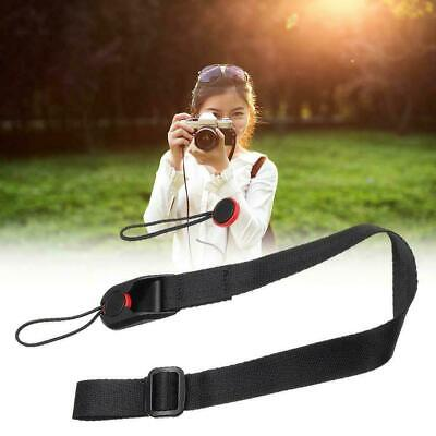 Quick Release DSLR Camera Cuff Wrist Belt &Leash Shoulder Strap ABS Buckle L6N3