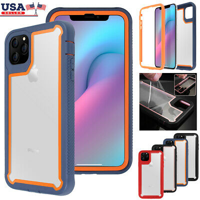 For iPhone 11 Pro Max 2019 Case Hybrid Heavy Duty Shockproof Clear Back Cover US