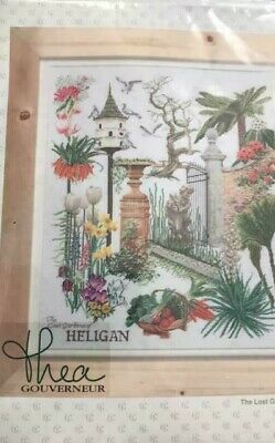 Thea Gouverneur X-stitch kit The lost Gardens of Heligan 423A