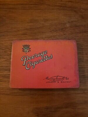 Collectable tobacco Tins