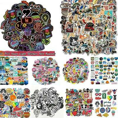 50/100Pcs Mixed Style Bomb Vinyl Laptop Skateboard Stickers Luggage Decals New