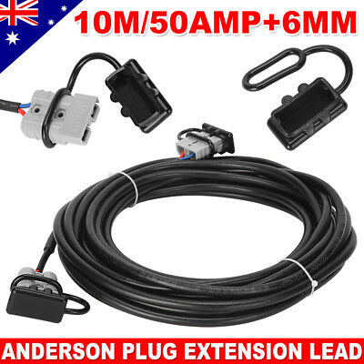 10m 50Amp Anderson Plug Extension Lead Automotive Twin Core Cable Ready to Use