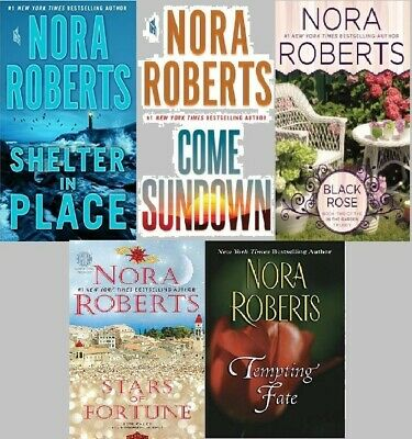 NORA ROBERTSNew York Times #1 Best Selling Author.Audio Books, 5 Titles MP3 DVD