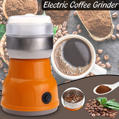 220V Mini Moulin à Café Grain Broyeur Herbe Grinder Machine Cafetière