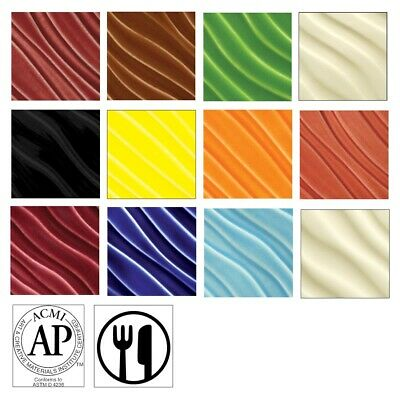 AMACO F-Series Glazes 12-Color Class Pack  - Class Pack, 12 Colors